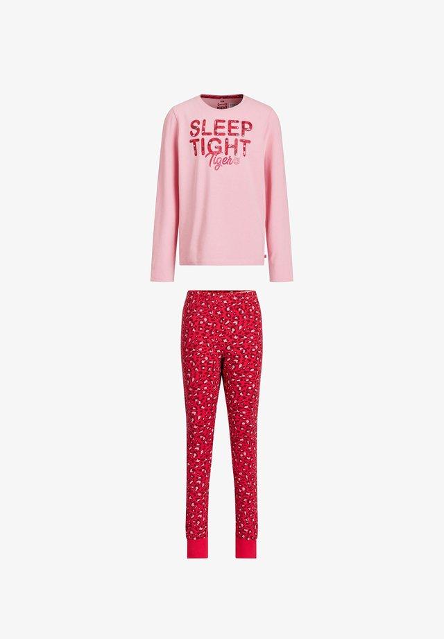 MET LUIPAARDPRINT - Pijama - pink