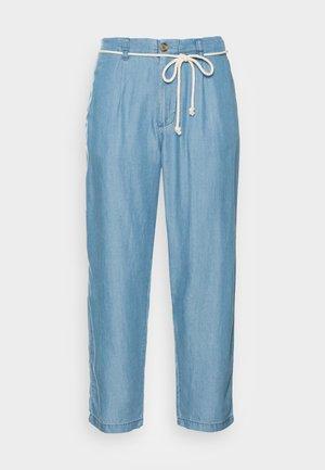 Trousers - medium blue
