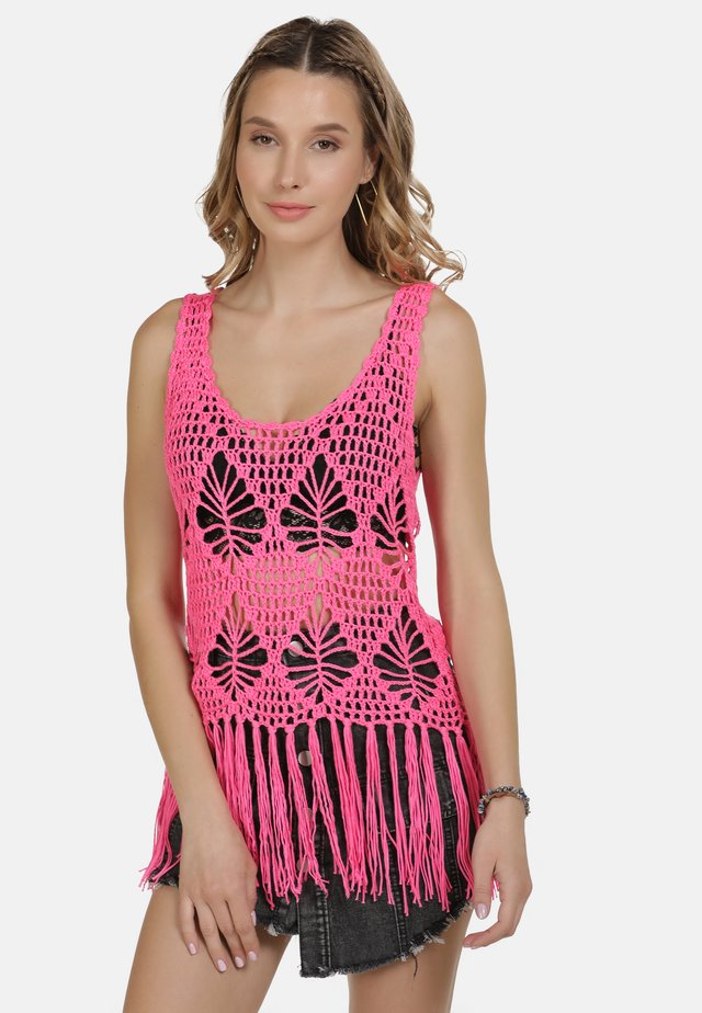 IZIA TOP - Toppi - neon pink