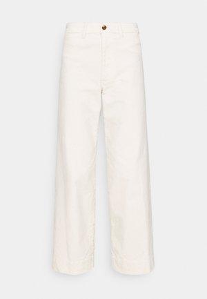 FULL LENGTH WIDE LEG - Kalhoty - off white