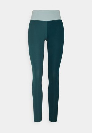ONE LUXE - Tights - dark teal green