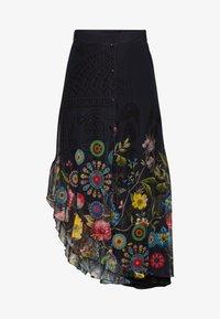 Desigual - COKE - Áčková sukně - marino - 3
