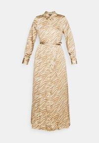 EASY SHIRTDRESS SOFT - Maxi dress - warm zebra