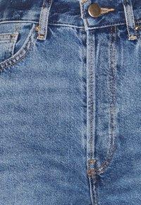 Even&Odd - Wide Leg Cropped jeans - Straight leg jeans - blue denim - 4