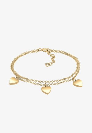 HERZ SYMBOL LOVE TRIO LAYER - Bracelet - gold-coloured