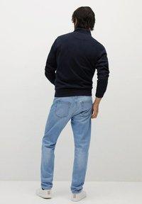Mango - BOB - Jeans a sigaretta - hellblau - 2