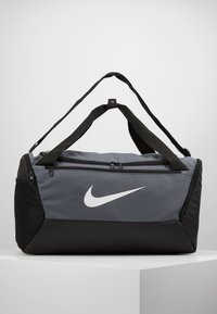 Nike Performance - DUFF 9.0 - Bolsa de deporte - flint grey/black/white - 0