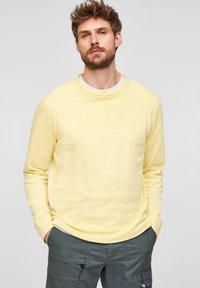 s.Oliver - Sweatshirt - light yellow - 0