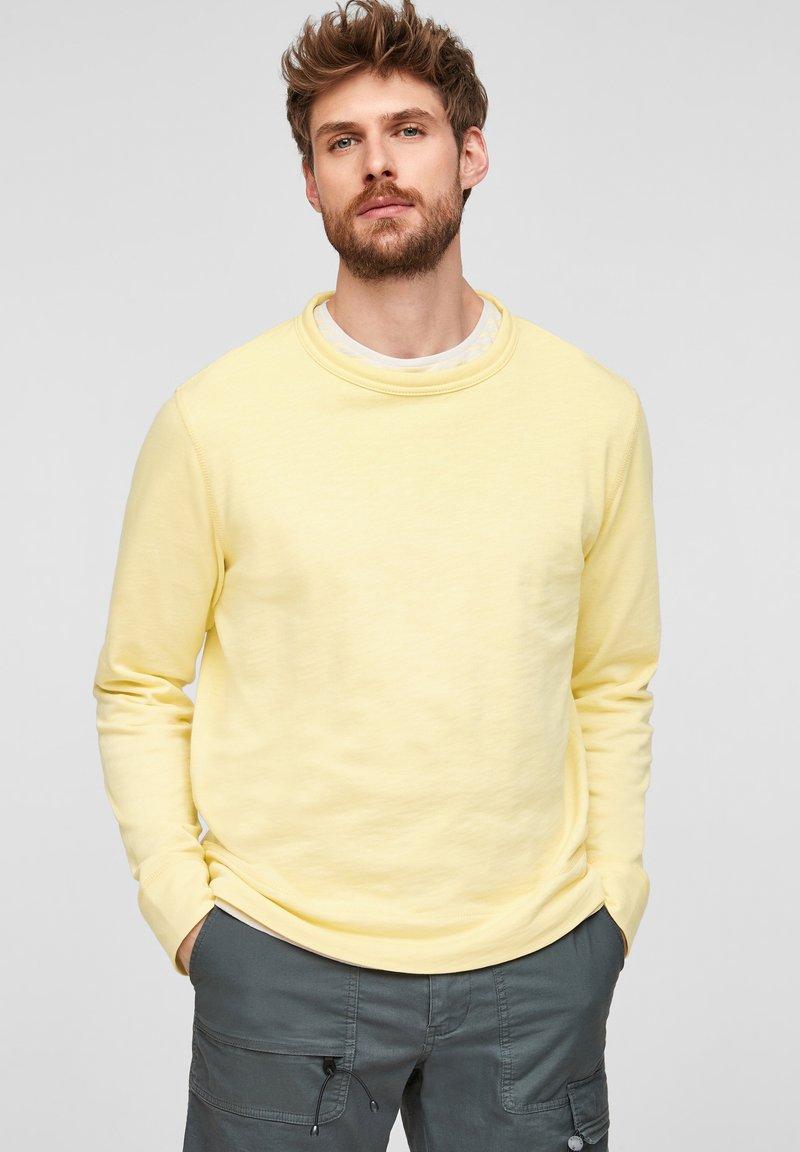 s.Oliver - Sweatshirt - light yellow