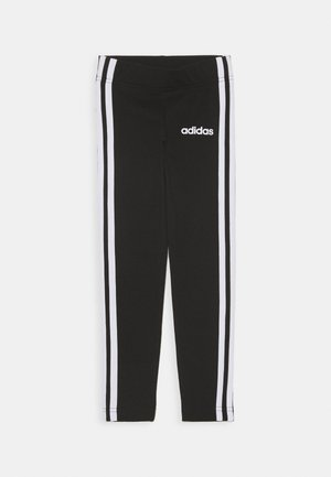 UNISEX - Legginsy - black/white