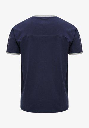 HMLCIMA  - T-shirt med print - marine