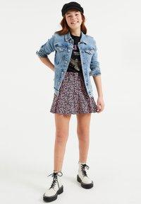 WE Fashion - Denim jacket - light blue - 0