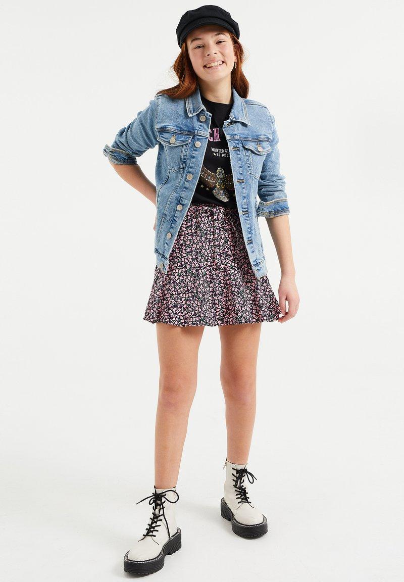 WE Fashion - Denim jacket - light blue