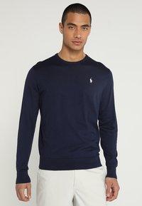 Polo Ralph Lauren Golf - PIMA CREWNECK - Pullover - french navy - 0