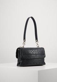 Guess - CHIC SHINE SHOULDER BAG - Handbag - black - 2