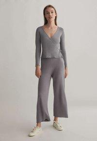 OYSHO - Kalhoty - grey - 1