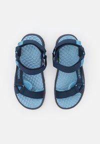 Kappa - UNISEX - Chodecké sandály - navy/mid blue - 3