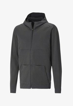 PORSCHE DESIGN TRAVEL - Zip-up hoodie - asphalt