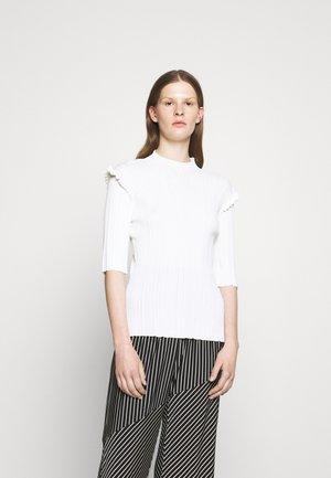TAIGER - Basic T-shirt - ecru