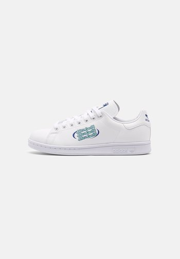 STAN SMITH PRIMEGREEN SHOES - Tenisky - white/team sand/clear mint