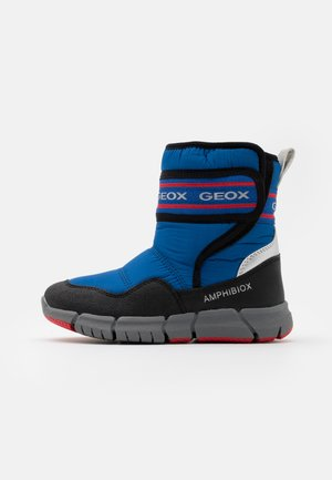 FLEXYPER BOY ABX - Snowboot/Winterstiefel - royal/red