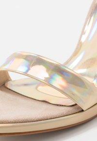 Trendyol - High heeled sandals - gold - 2