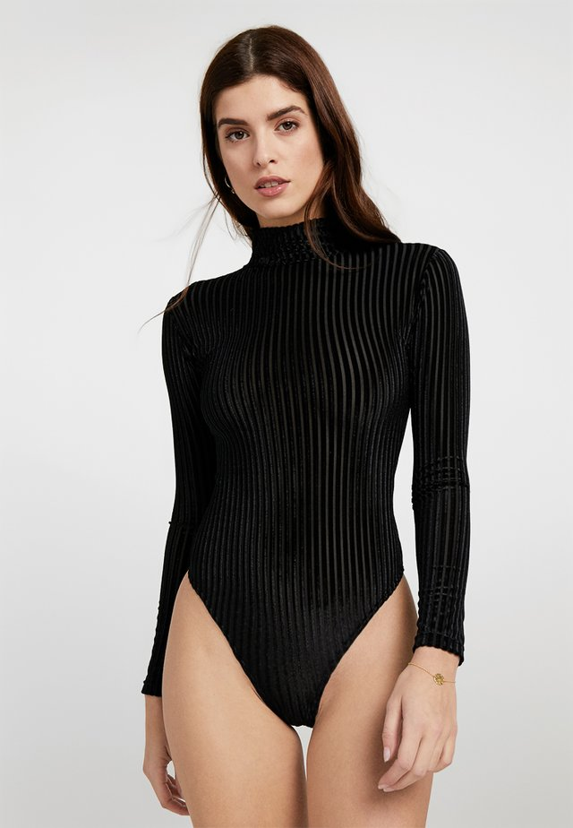 EVA BODYSUIT - Body - black