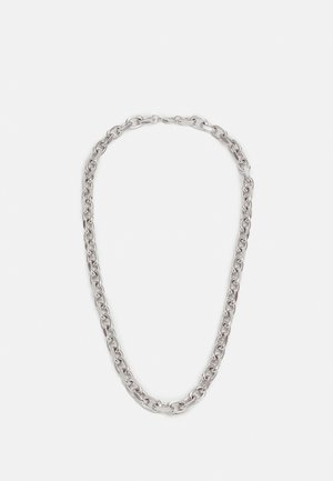 CHUNKY SQUARE LINK CHAIN - Halsband - silver-coloured
