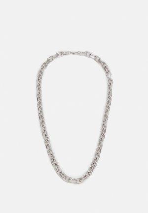 CHUNKY SQUARE LINK CHAIN - Kaulakoru - silver-coloured