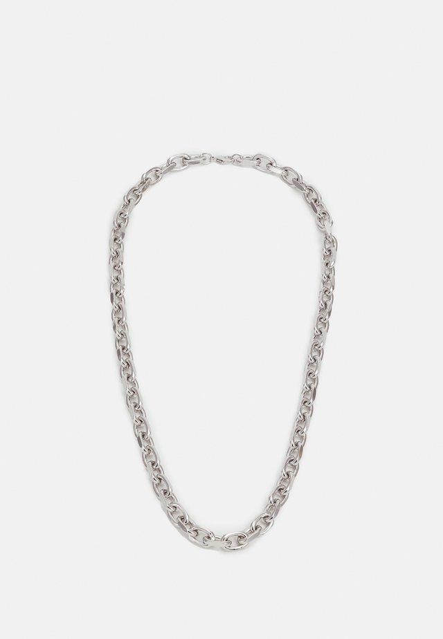 CHUNKY SQUARE LINK CHAIN - Halskæder - silver-coloured