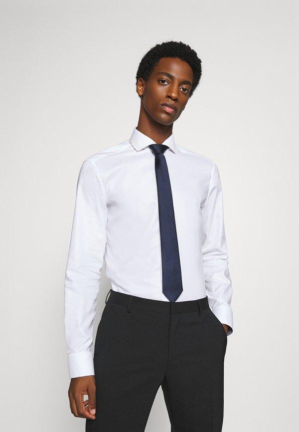 Burton Menswear London ENTRY TIE - Krawat - navy/czarny Odzież Męska GYTS