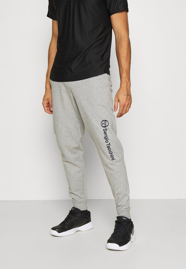 ALMERS PANT - Pantaloni sportivi - heather grey