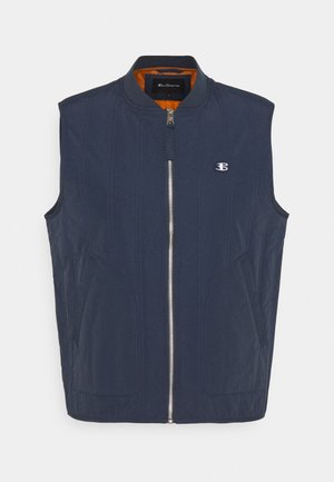 QUILTED GILET - Waistcoat - midnight