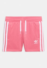 adidas Originals - TEE SET UNISEX - Shorts - white/hazy rose - 2