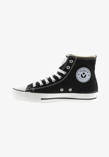 VICTORIA - Zapatillas altas - black