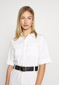 4th & Reckless - LORI BELTED DRESS - Shirt dress - cream - 3