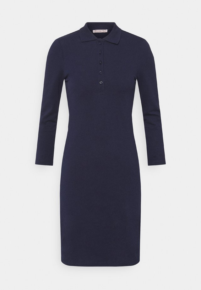 SLEEVES MINI DRESS  - Day dress - dark blue