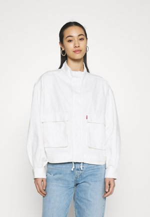 SURPLUS UTILITY JACKET - Kurtka jeansowa - cool ecru