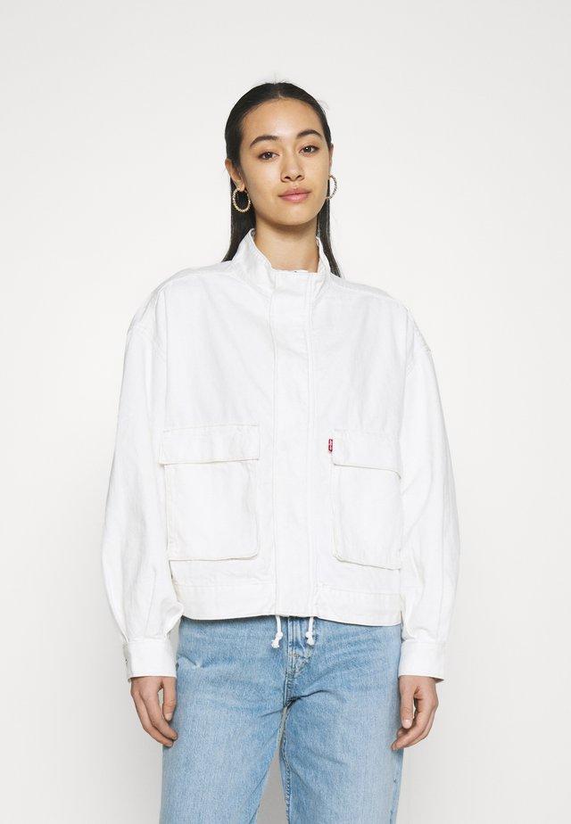 SURPLUS UTILITY JACKET - Denim jacket - cool ecru
