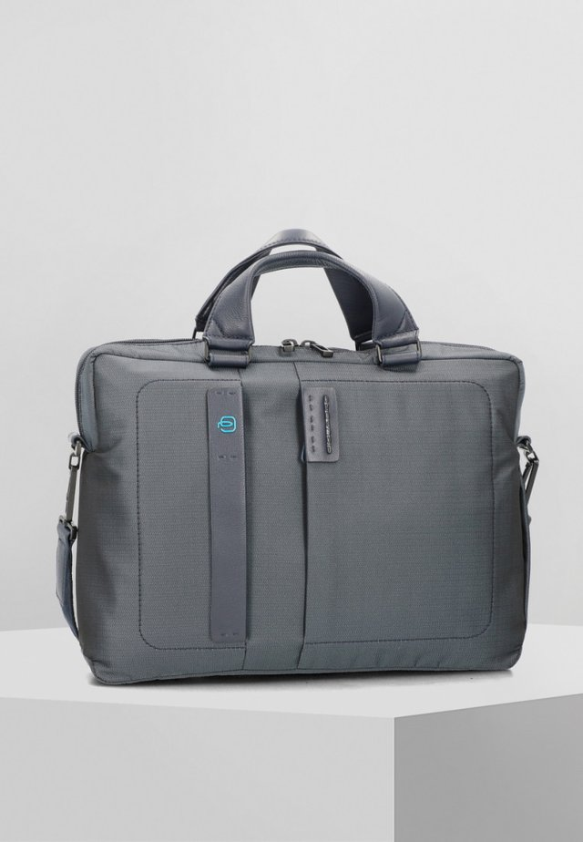 PIQUADRO P16 AKTENTASCHE 38 CM LAPTOPFACH - Briefcase - blue