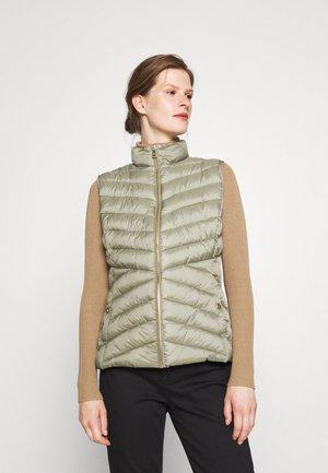 INSULATED VEST - Waistcoat - fresh sage