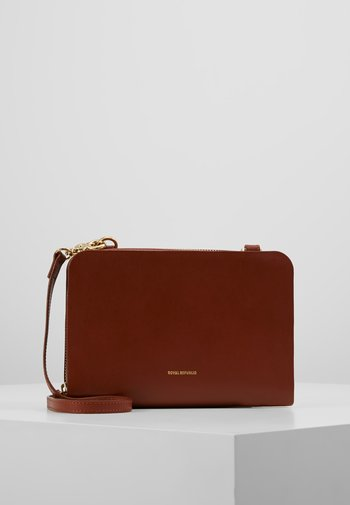 GALAX EVE BAG - Across body bag - cognac