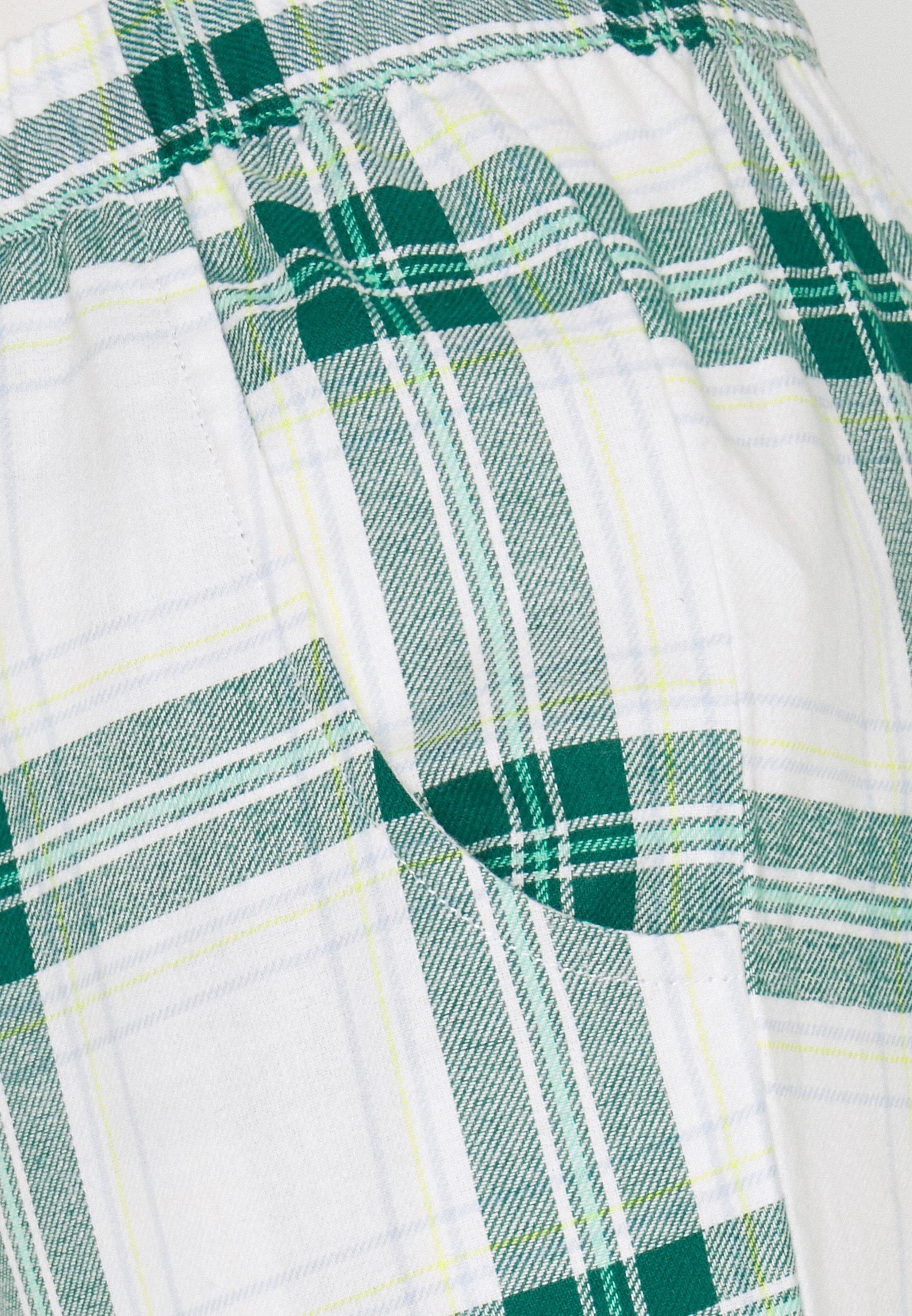 Women PANT TWILL CHECK CUFF - Pyjama bottoms