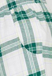 Hunkemöller - PANT TWILL CHECK CUFF - Pyjama bottoms - storm - 2