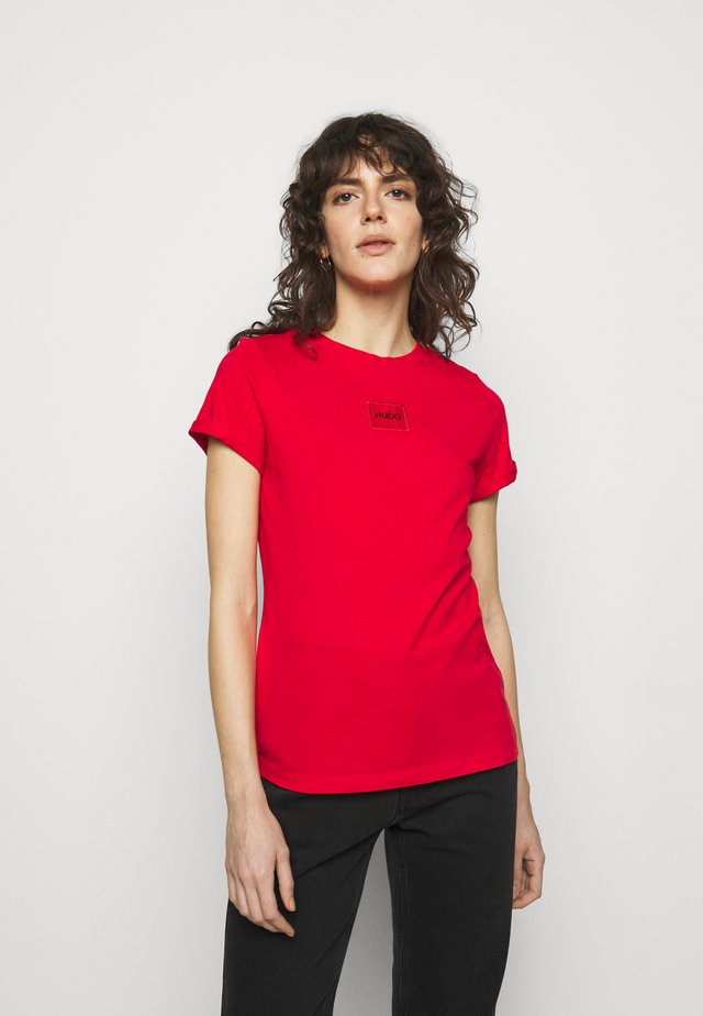 THE SLIM TEE REDLABEL - T-shirt print - red