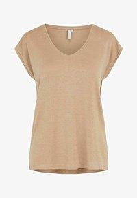 Pieces - Camiseta básica - natural - 4