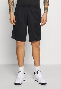 Nike Sportswear - REPEAT - Shorts - black/white - 0