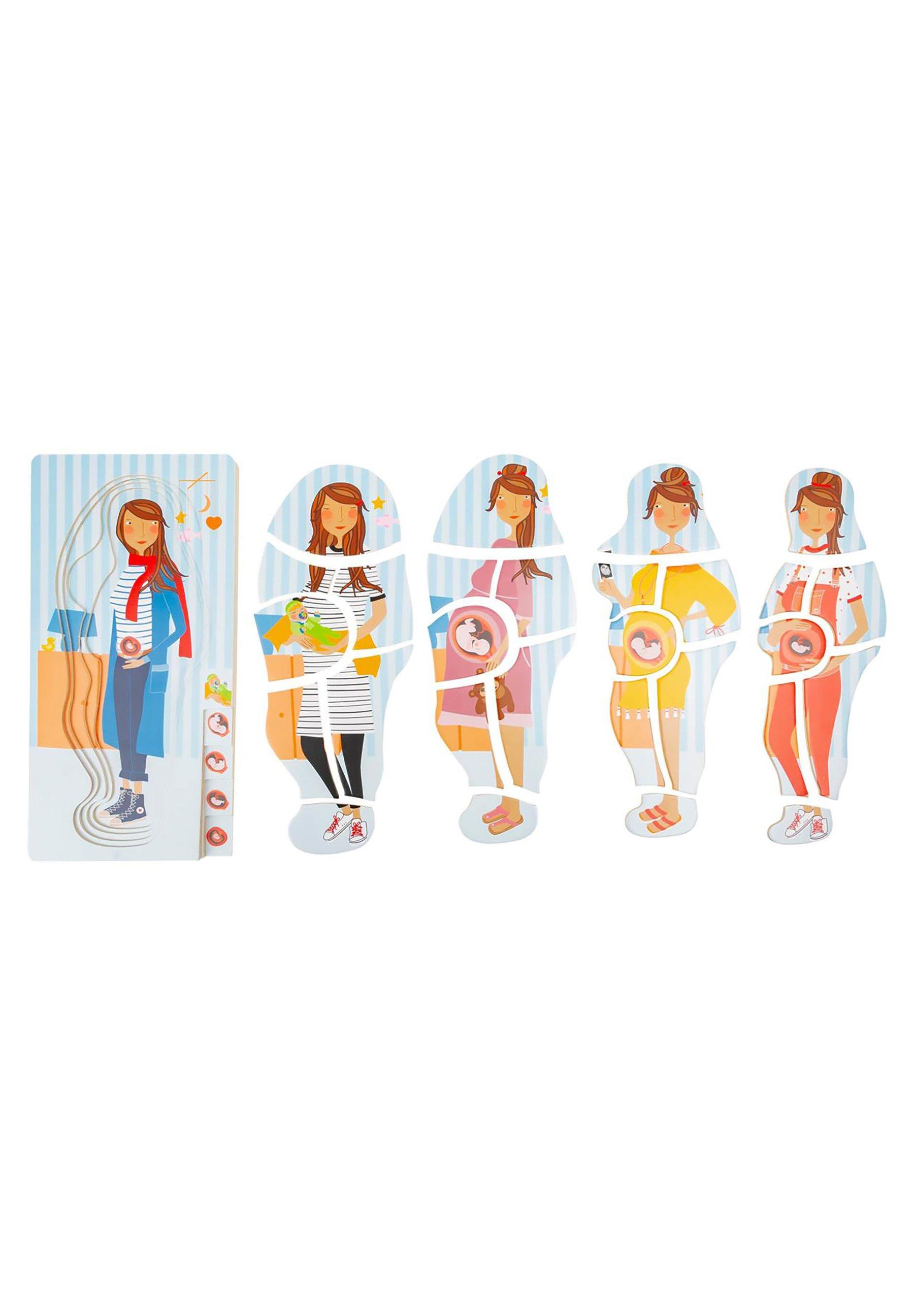 Kinder PUZZLES SCHICHTENPUZZLE SCHWANGERSCHAFT - Spielzeug