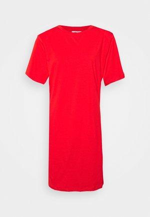OLIVINE - Jersey dress - tangerine tango