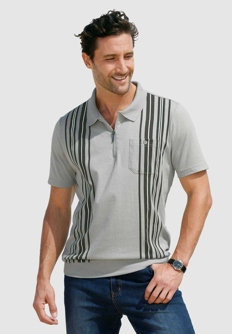 Roger Kent - Polo shirt - silbergrau dunkelgrau